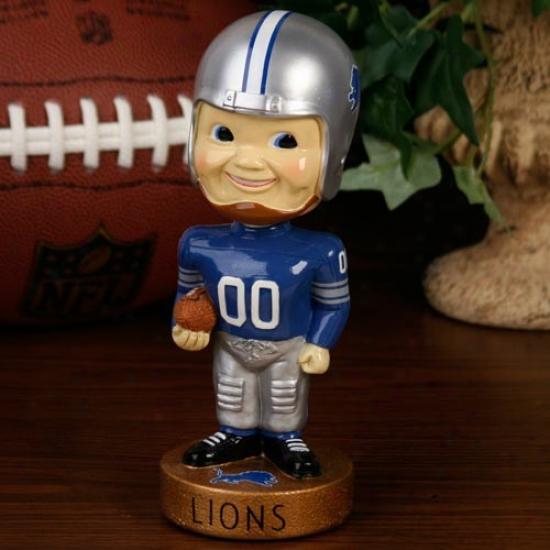 Detroit Lions Legacy Bobblehead Figurine
