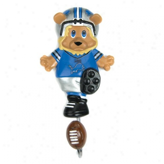 Detroit Lions Mascot Wall Hook