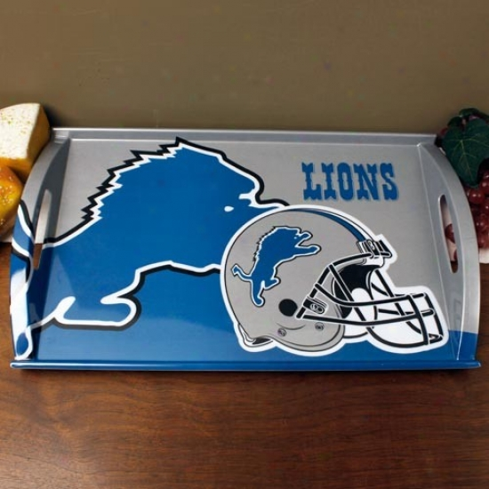 Detroit Lions Melamine Serving Tray