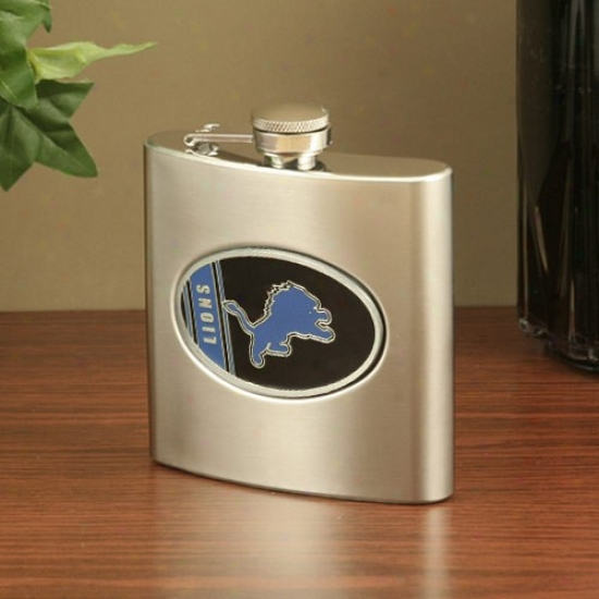 Detroit Lions Stainless Steel Flask