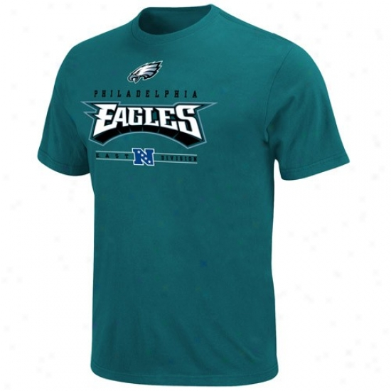 Eagles Attire: Eagles Green Critical Victory T-shirt