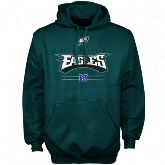 Eagles Hoody : Eagles Green Critical Victory Iv Hoody