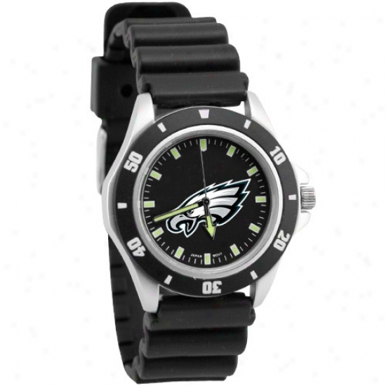 aEgles Watch : Eagles Black Men's Stanless Steel Face Challenger Sports Watch