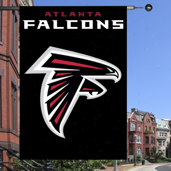"""falcons Banners : Falcons Premium Quality 44""""x28"""" Applique Banners"""