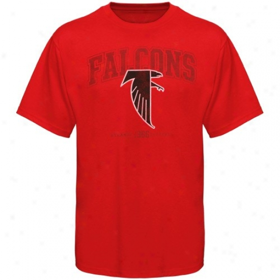 Falcons Tees : Falcons Red Critical Conquest Iv Tees