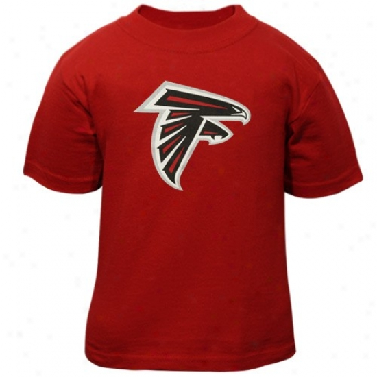 Falcons Tshirts : Reebok Falvons Toddler Red Primary Logo Tshirts
