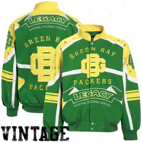 Green Bay Jacket : Green Bay Green Bequest Vintag3 Heavyweight Canvas Jacket