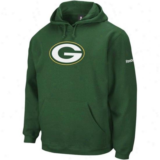 Green Bay Packer Strip : Reebok Green Bay Packer Green Playbook Fleece