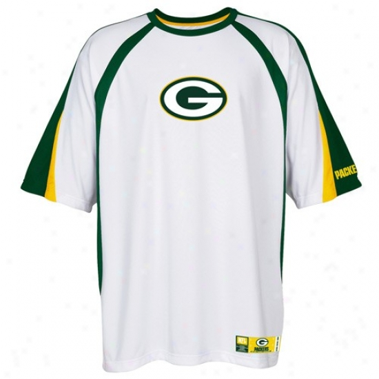 Green Bay Packer Shirts : Green Recess  Packer White Club Seat Fashion Annual rate  Top