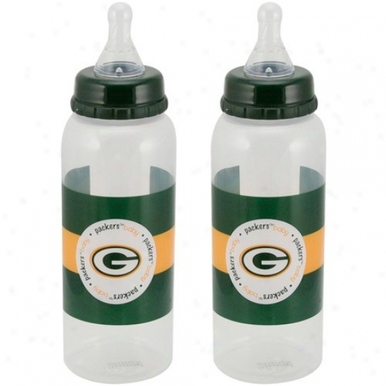Green Bay Packers 2-pack Baby Bottles