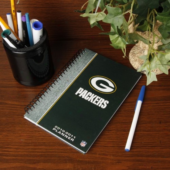 Green Bay Packers 2010-11 5'' X 8'' Planner