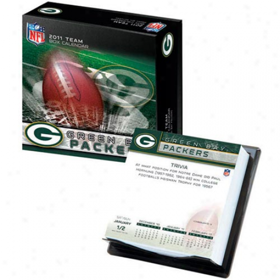 Green Bay Pckers 2011 Boxed Team Calendar