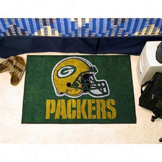 """""""green Bay Packers 20""""""""x30"""""""" Starter Mat"""""""