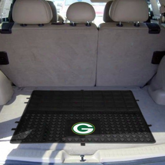 Green Bay Packers Black 31'' X 31'' Cargo Mat Car Mat
