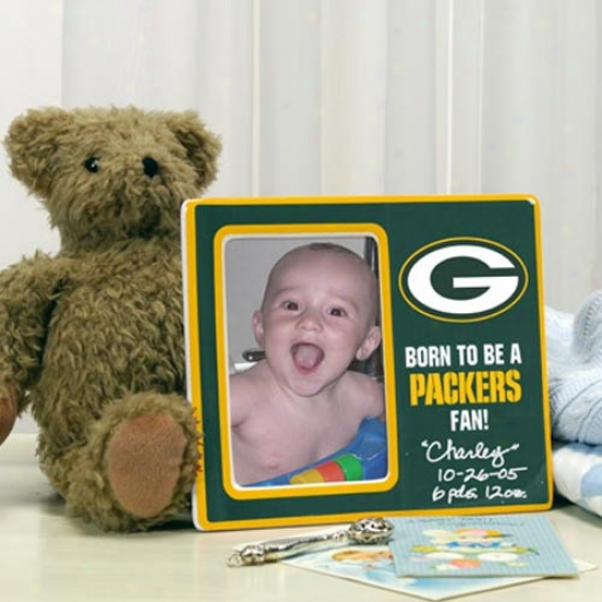 Lawn Bay Packers Born To Be Picture Form