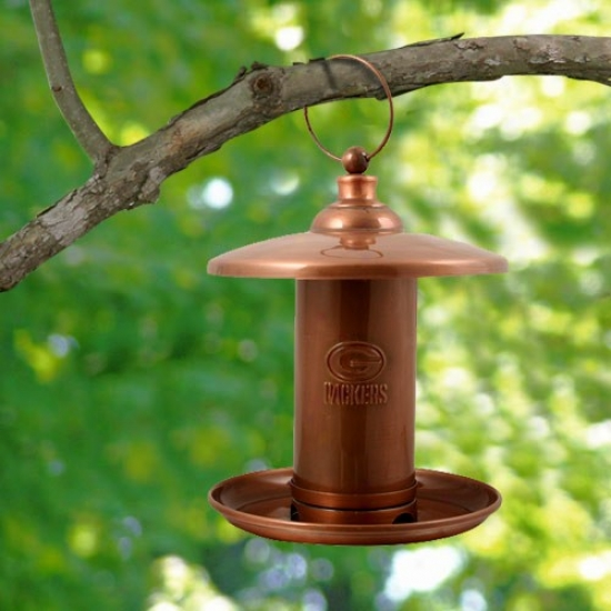 Green Bay Packers Copper Birc Feeder