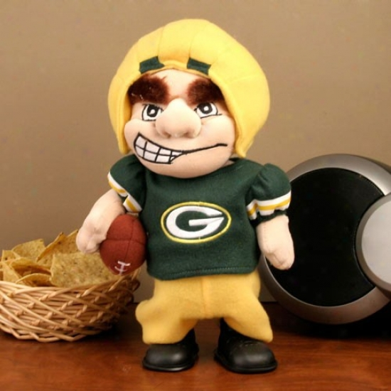 Green Bay Packers Dancing Team Halfback