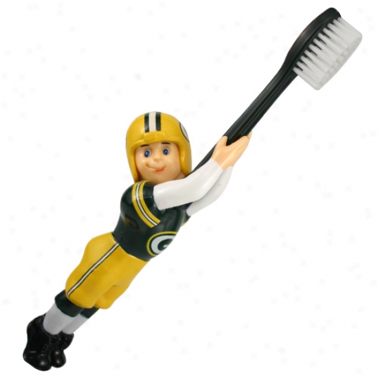 GreenB ay Packers Football Player Toothbrush