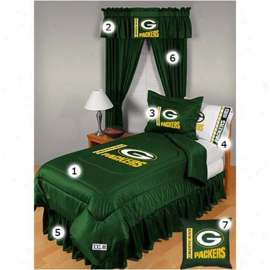 Green Bay Packers Full Size Locker Room Bedroom Set