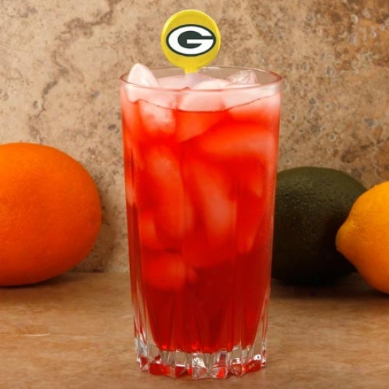 Green Bay Packers Gold 6-pack Drink Picks