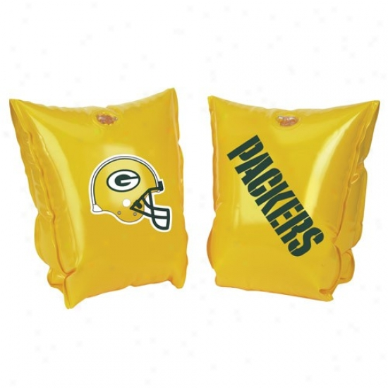 Green Bay Packers Gold Water Wings