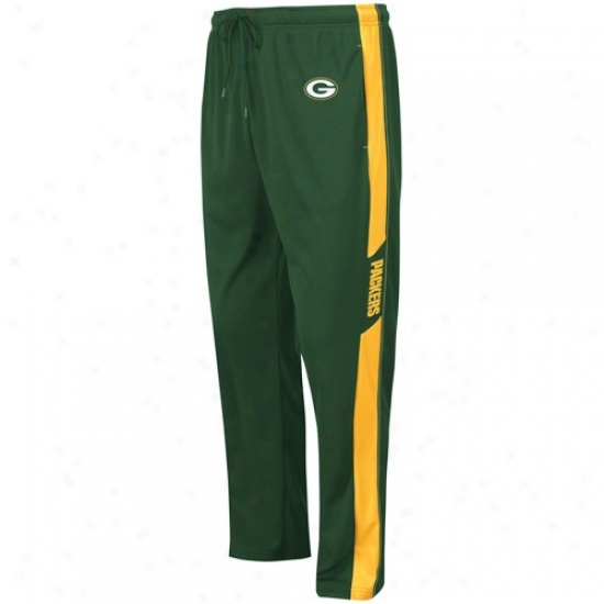 Green Bay Packers Green Classic Synthetic Pants