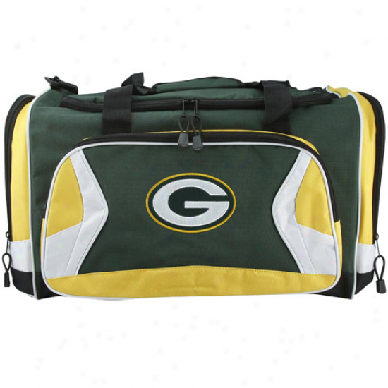 Green Bay Packers Green Fly-by Duffel Bag