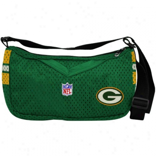 Green Bay Pakcers Green Jersey Purse