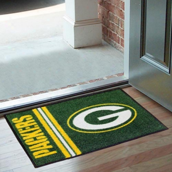 Green Bay Packers Green Starter Mat