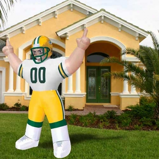 Green Bay Packers Inflatable Player