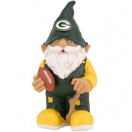 Green Bay Packers Mini Football Gnome Figurine
