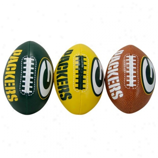 Green Bay Packers Softee 3 Ball Set