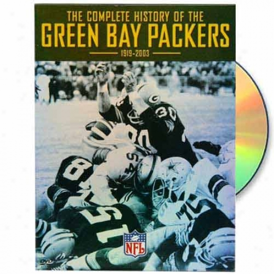 Green Bay Packers The Comp1ete History 1919-2003 Dvd