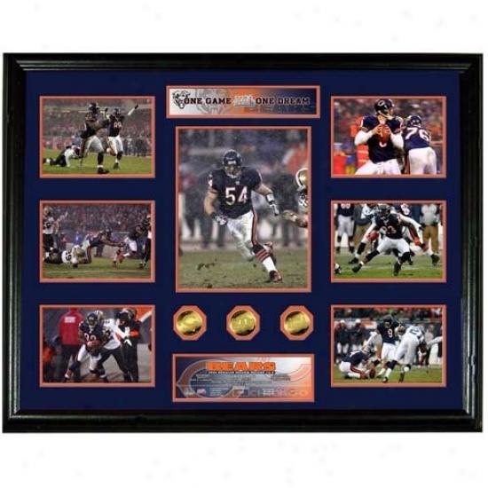 Highland Mint Chicago Bears Super Bowl Xli Megw Photomint