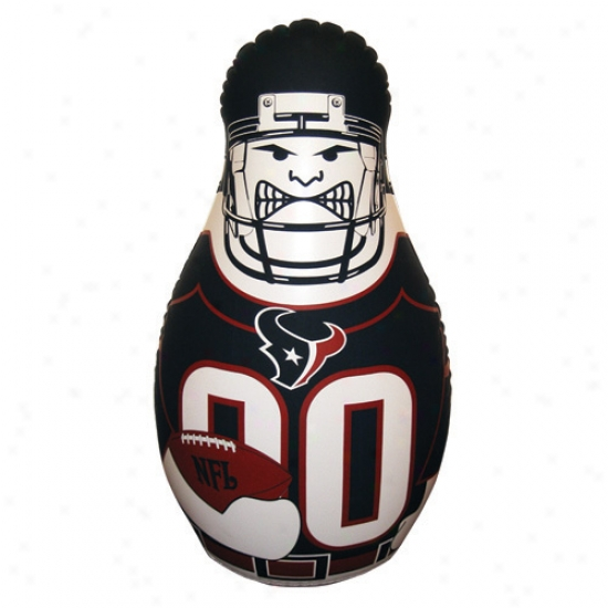 Houston Texans 40'' Inflatable Tackle Buddy Punching Bag