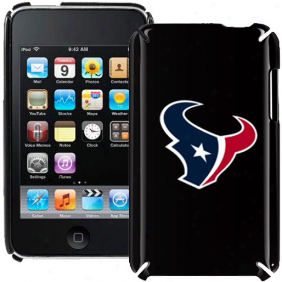 Houston Texans Black Ipod Touch Hard Shell