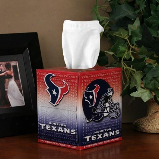 Houston Texans Box Of Sports Tissues