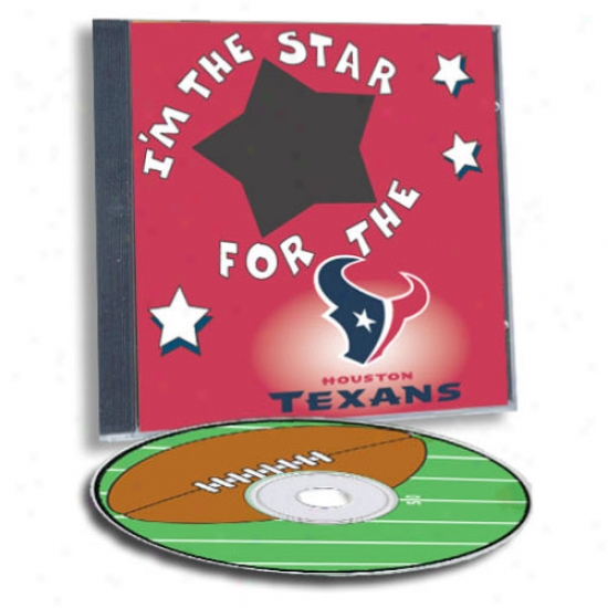Houston Texans Game Hero Cistom Sports Cd