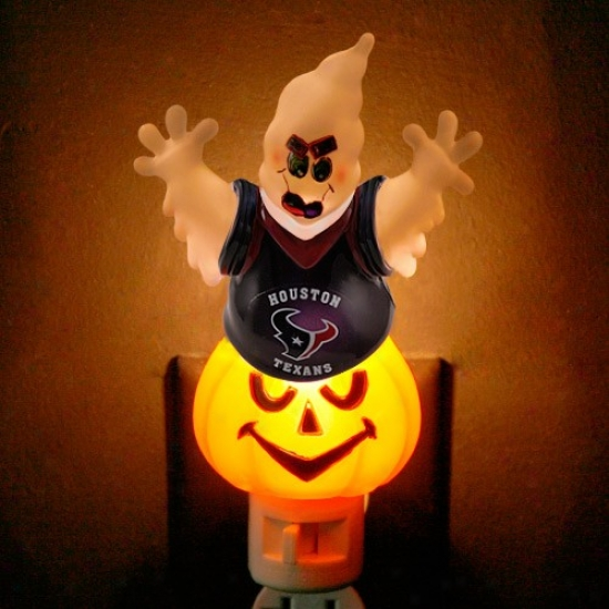 Houston Texans Halloween Ghost Night Light
