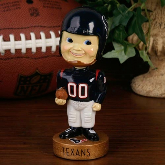 Houston Texans Legacy Bobblehead Figurine