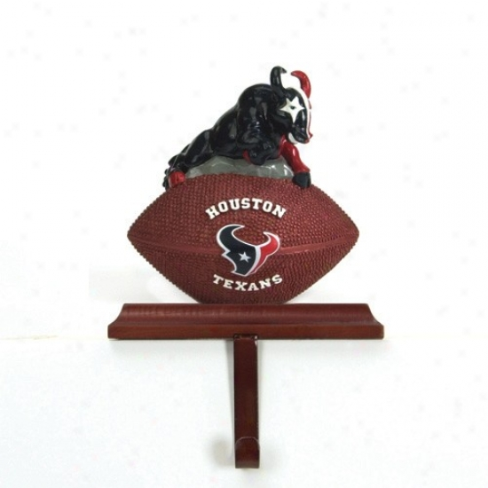 Houston Texans Mascot Stocking Hanger