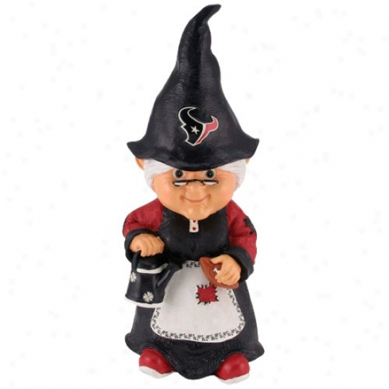 Houston Texans Nfl Female Garden Gnome