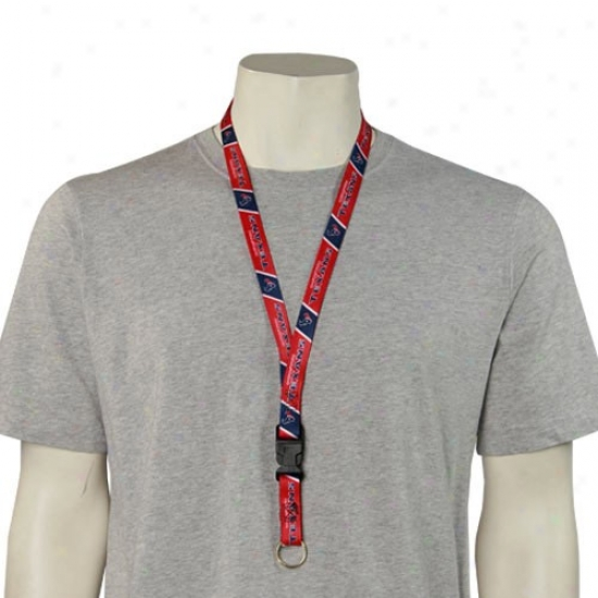 Houston Texans Nfl Team Logo Lanyard