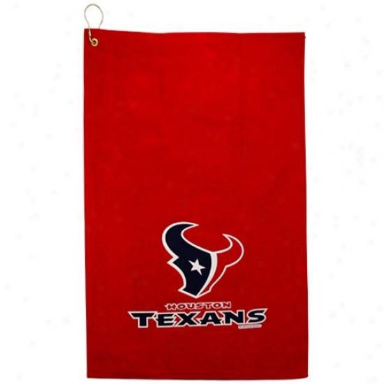 Houston Texans Ref Sports Towel