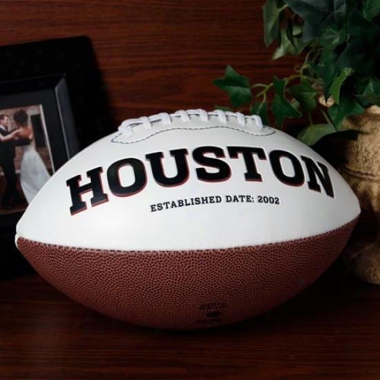 Houston Texans Signature Series Full-size Football
