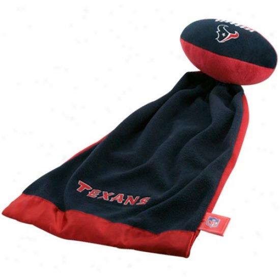 Houston Texans Snuggle Ball Blanket