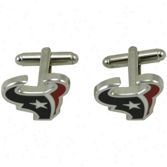 Houston Texans Team Logo Cufflinks