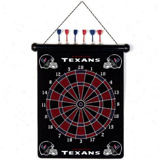 Houston Texans Team Magnetic Darts Set