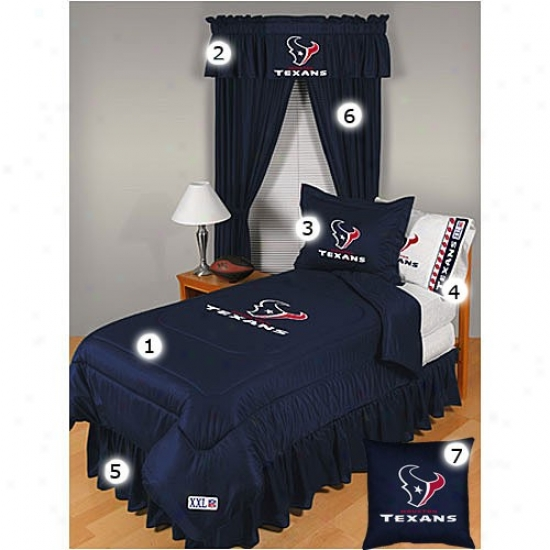 Houston Texxans Twin Size Locker Room Bedroom Set