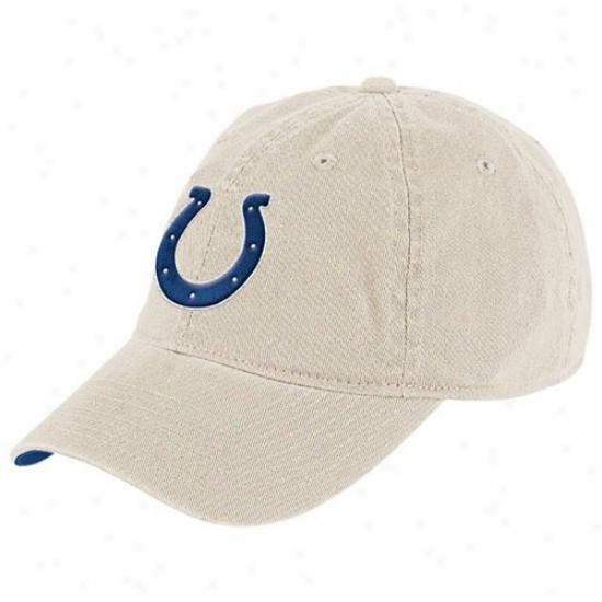 Indianapolis Colt Hat : Reebok Indianapolis Colt Stone Basic Logo Slouch Hat